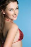 Smiling Bikini Girl Royalty Free Stock Photography