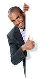 Smiling black businessman Stock Image