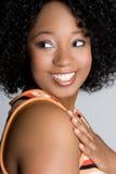 Smiling Black Girl Royalty Free Stock Photos