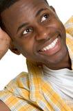 Smiling Black Man Stock Photo
