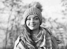 Smiling black and white royalty free stock photo