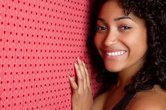 Smiling Black Woman Stock Images