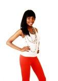 Smiling black woman. Royalty Free Stock Photos