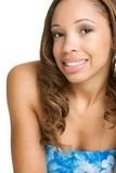 Smiling Black Woman Stock Photos