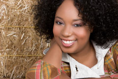 Smiling Black Woman Royalty Free Stock Image