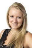 Smiling blond girl Stock Photos