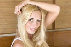 Smiling blonde Stock Image