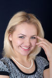 Smiling blonde Royalty Free Stock Photos