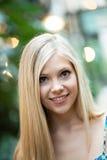 Smiling Blonde Girl Stock Image