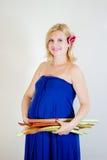 Smiling blonde girl Stock Photo