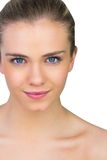 Smiling blonde natural beauty Royalty Free Stock Image