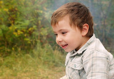 Smiling boy Royalty Free Stock Image
