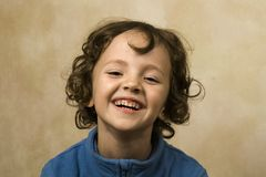 Smiling boy. Cute little boy with beautiful smile Royalty Free Stock Image