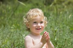 The smiling boy Royalty Free Stock Photo