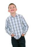 The smiling boy Stock Photo
