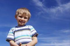 Smiling boy Stock Photos