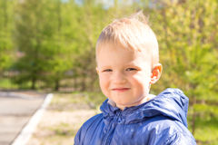 Smiling boy (child) Stock Photos