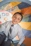 Smiling  boy. Close-up. Royalty Free Stock Photography