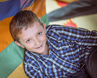 Smiling  boy. Close-up. Royalty Free Stock Images