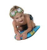 Smiling boy in diving mask Royalty Free Stock Images