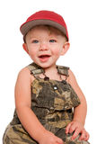 Smiling boy with red cap Stock Photography