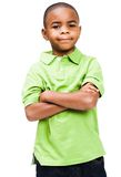 Smiling boy standing Royalty Free Stock Photos