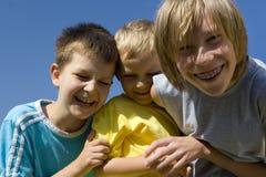 Smiling boys Stock Image