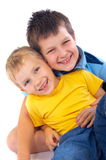 Smiling Boys Royalty Free Stock Images