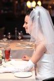 Smiling  bride Royalty Free Stock Photo