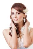 Smiling bride Stock Photography