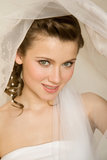 Smiling bride Royalty Free Stock Images