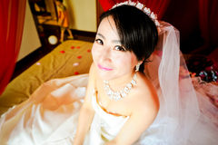 Smiling bride Royalty Free Stock Image