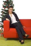 Smiling Brunette Stock Photography