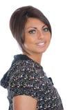 Smiling brunette girl Stock Image