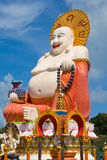 Smiling Buddha in Koh Samui, Thailand Stock Photography