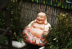 Smiling Buddha Royalty Free Stock Photo
