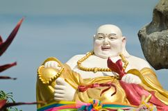 Smiling Buddha Statue Stock Photography