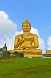 Smiling Buddha statue Royalty Free Stock Photo