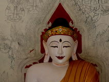 Smiling Buddha. In Thailand with smiling face Royalty Free Stock Image