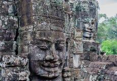 Smiling Buddhas at Bayon Royalty Free Stock Image