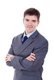 Smiling business man Stock Photography