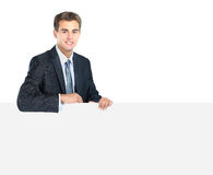 Smiling business man Royalty Free Stock Photos