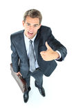 Smiling business man Stock Image