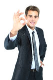 Smiling business man Royalty Free Stock Image