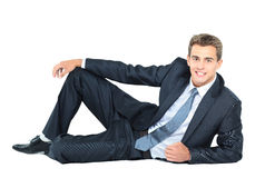 Smiling business man Royalty Free Stock Photography
