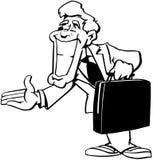 Smiling Business Man cartoon Vector Clipart Stock Photos