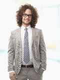 Smiling business man Royalty Free Stock Images