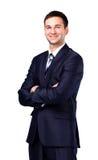 Smiling business man Stock Image