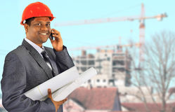 Smiling business men Stock Photography