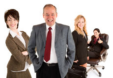Smiling Business People Stock Photo